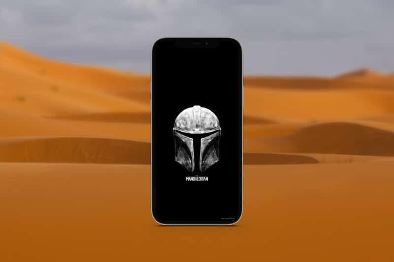 мандалорские обои для iphone 8
