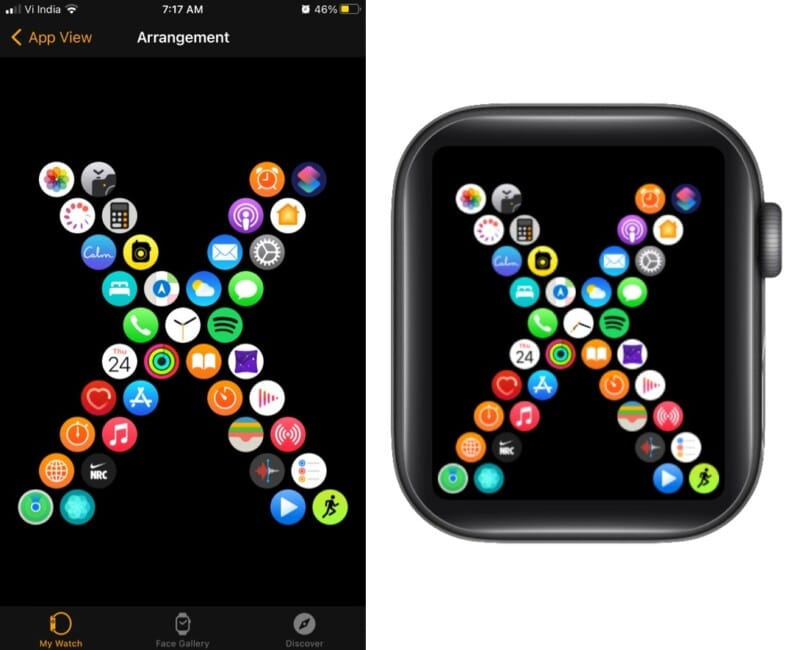 mission time with Mr. X on Apple Watch