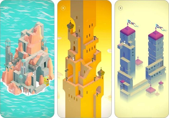 Monument Valley Indie-Spiel Screenshot