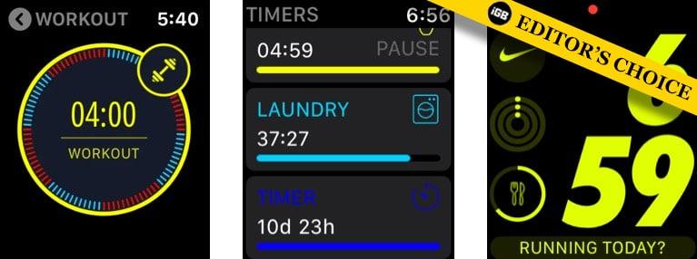 Приложения с таймером MultiTimer для Apple Watch
