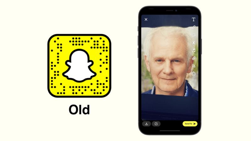 Старый фильтр Snapchat