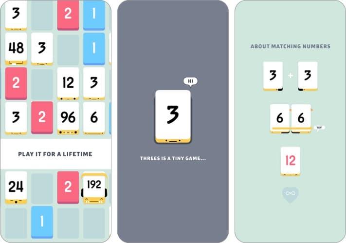 Dreier Indie-Spiel Screenshot