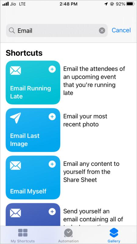 Verwenden Sie Mail wie ein Profi mit Siri Shortcuts