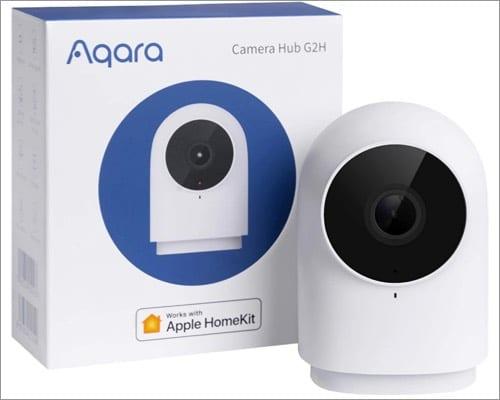 Камера видеонаблюдения Aqara homekit