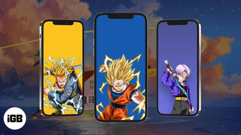 Dragon Ball Z wallpapers for iPhone