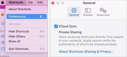 Включение или отключение синхронизации iCloud на Mac