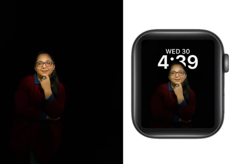 How Portraits watch face work on Apple Watch