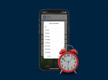 How to change snooze time on iPhone