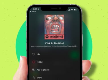 How to hide and unhide songs in Spotify