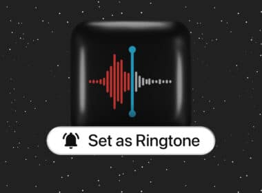 How to make a voice memo a ringtone on iPhone
