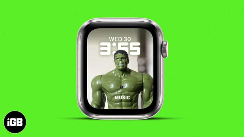 How to set Portrait photos as Apple watch face