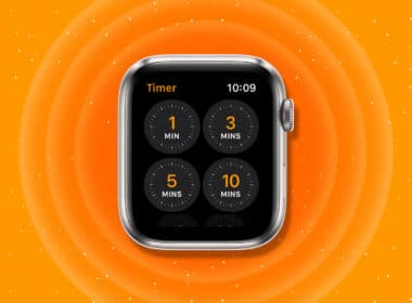 How to set a timer on Apple Watch