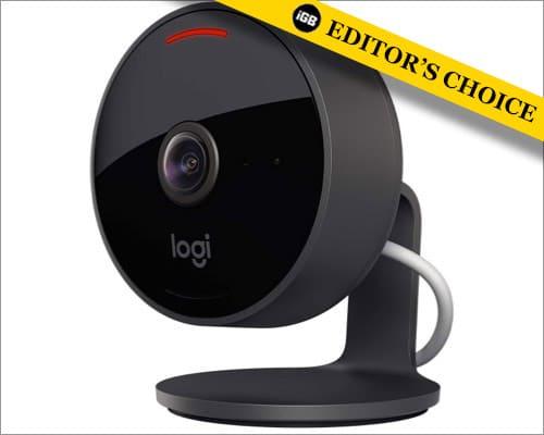 Камера Logitech Circle View для домашнего использования