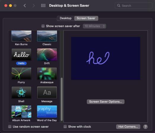 M1-iMac-Hello-screensaver-in-macOS-Monterey