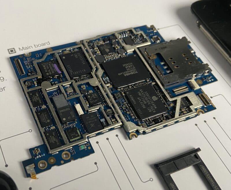 Основная плата рамки iPhone Grid 3GS