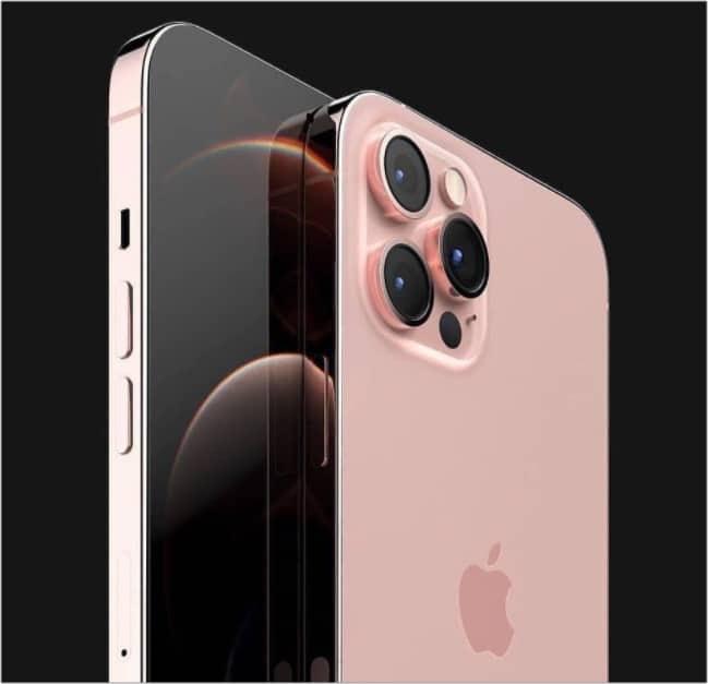 Розовый цвет в iPhone 13