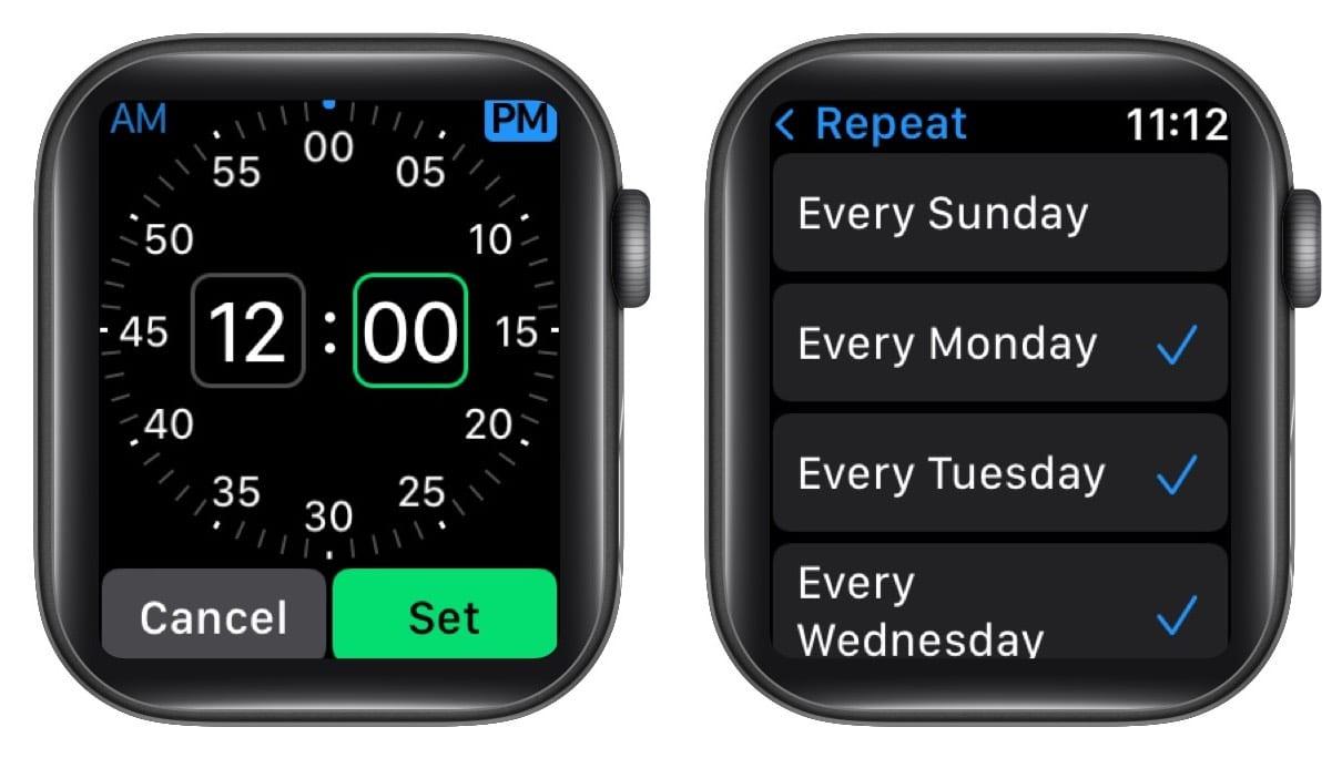 Повторите напоминание о внимательности на Apple Watch