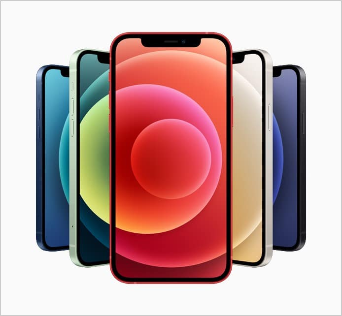Размер и аппаратная часть iPhone 13