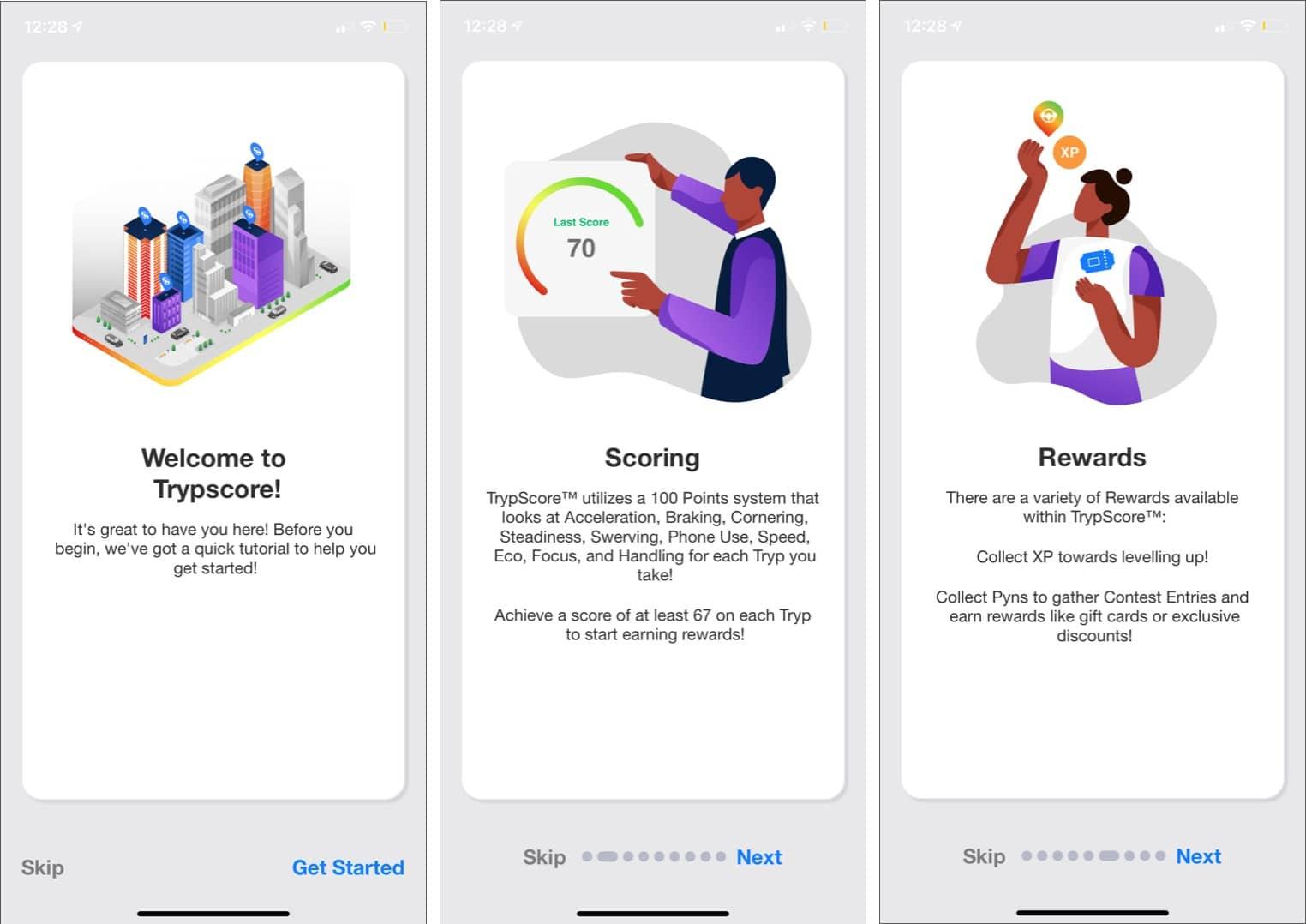 TrypScores geführtes Tutorial, um mehr über die iOS-App zu erfahren