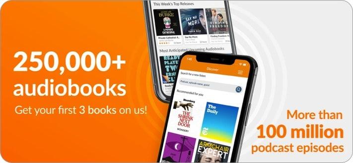 audiobooks.com iphone ipad app screenshot