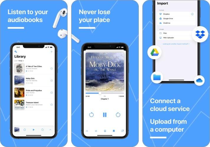 bound audiobooks app for iPhone