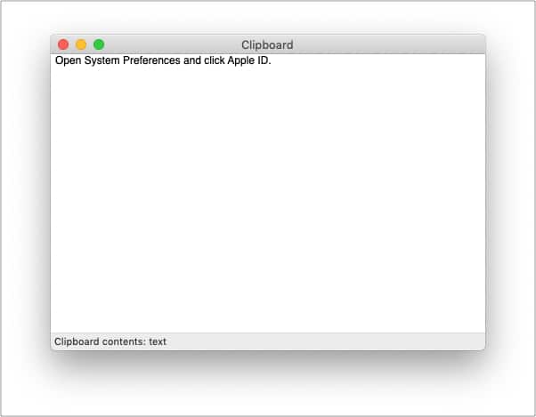 Буфер обмена на Mac