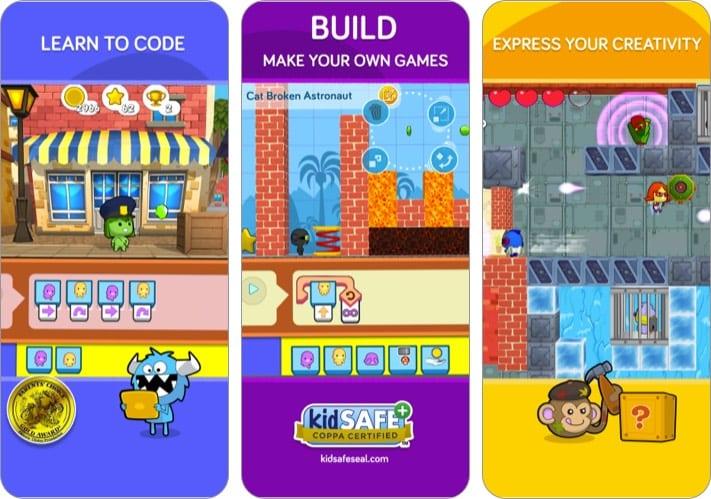 codeSpark Academy iPhone и iPad для детского сада