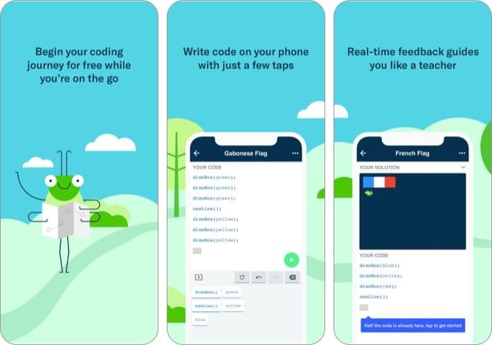 Кодовая игра Grasshopper для iPhone для начинающих
