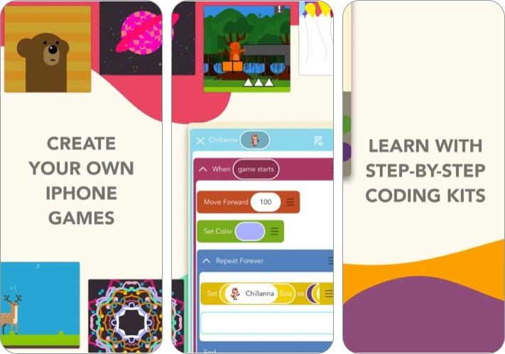 Hopscotch - лучшее приложение для программирования на iPhone для средней школы