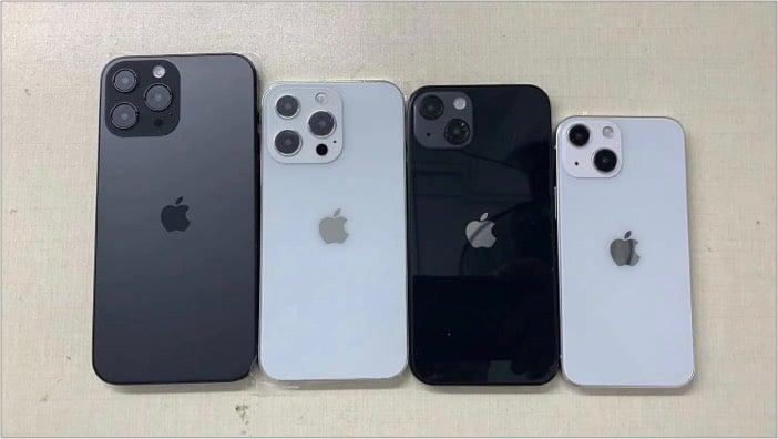 Дизайн iPhone 13 с перекрестными камерами