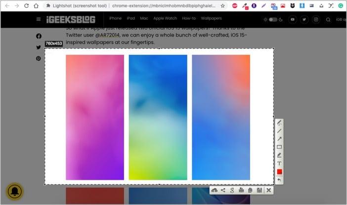 lightshot image download chrome extension