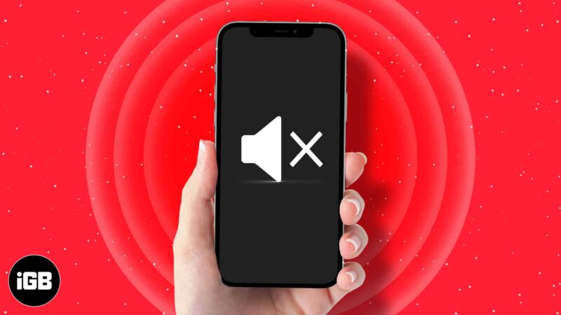 No sound on iPhone? Learn how to fix this issue