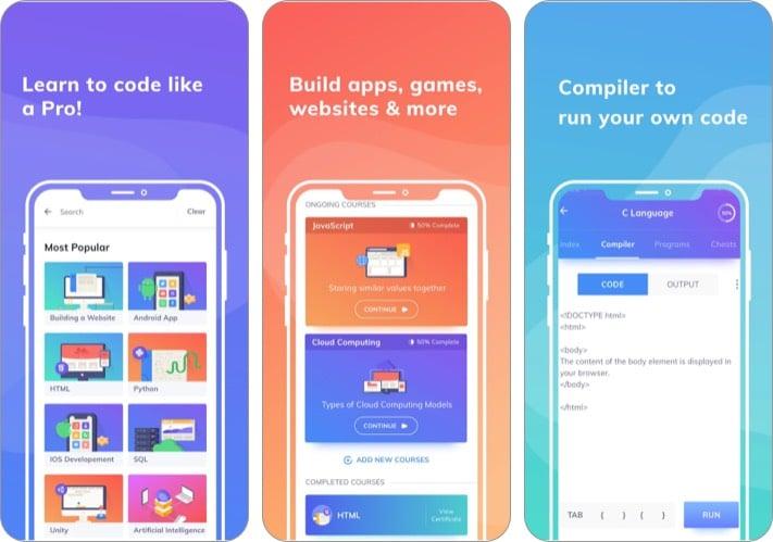 Центр программирования: изучение приложения для программирования для iPhone и iPad