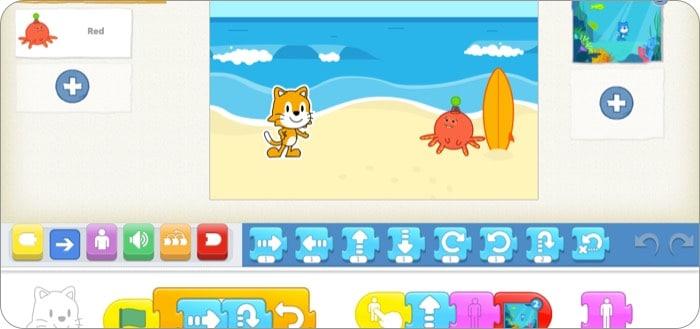 ScratchJr - лучшее приложение для программирования на iPad с открытым миром для детей
