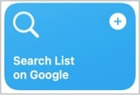 Search List on Google macOS Monterey shortcut for researchers