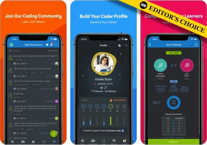 Sololearn лучшее приложение для кодирования iPhone и iPad для детей