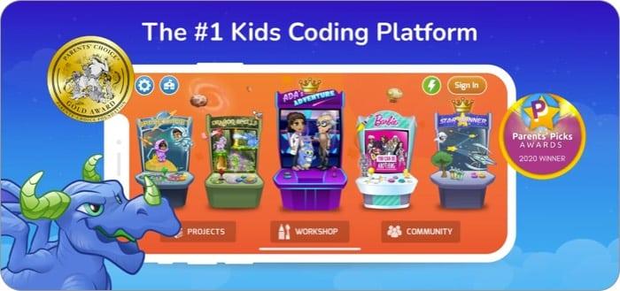 Лучшее приложение Tynker для iPhone для обучения детей программированию