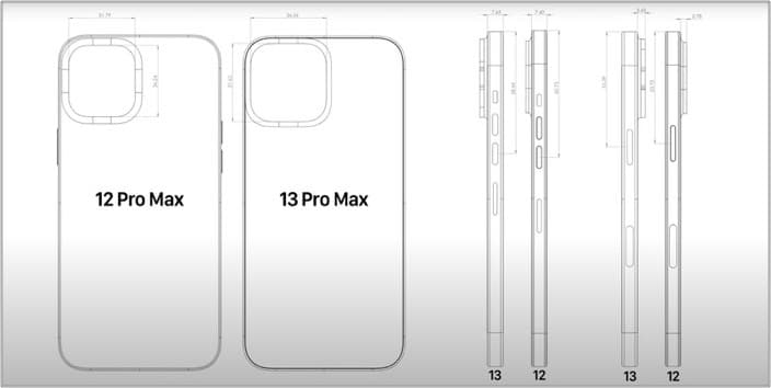 0.2mm thicker iPhone 13 series