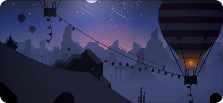 Alto's Odyssey- The Lost City apple arcade screenshot