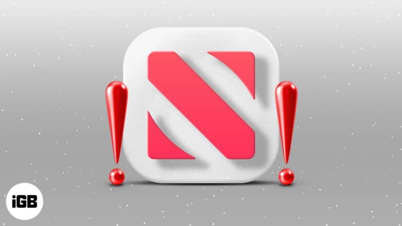 Apple News app keeps crashing on iPhone
