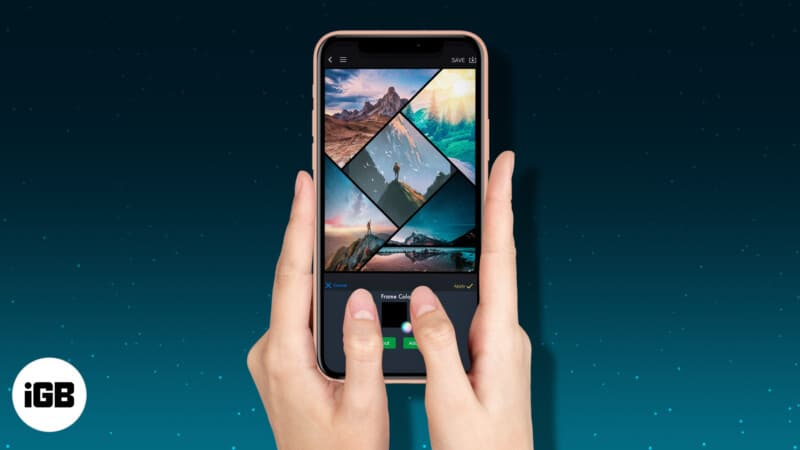 Best collage making apps for iPhone and iPad