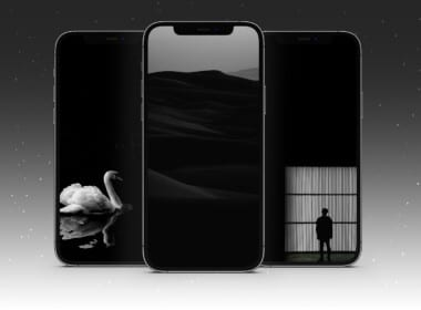 Download free Black walllpapers for iPhone