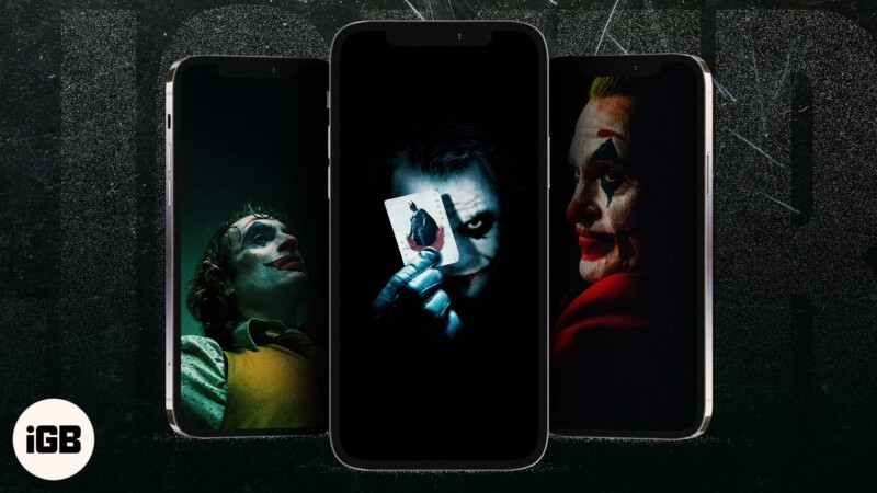 Free Joker wallpapers for iPhone in HD quality