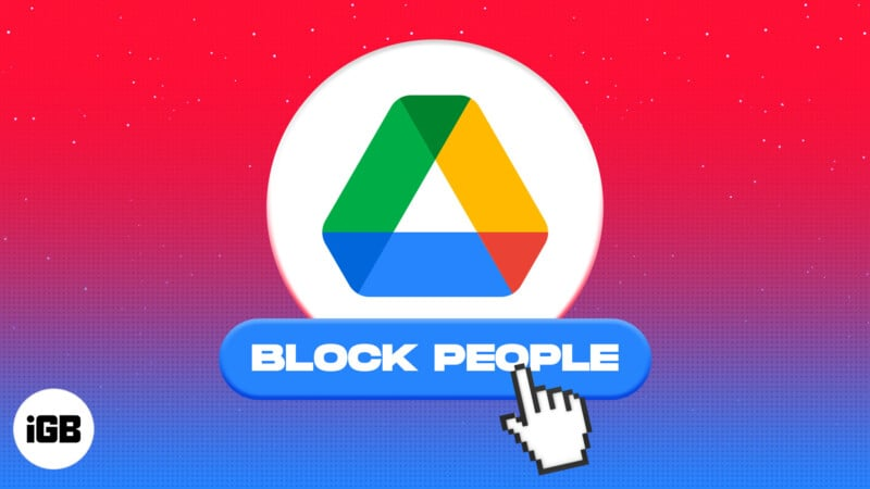 How to block someone in Google Drive