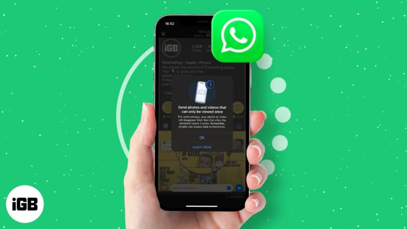 How to send disappearing photos and videos in WhatsApp on iPhone and Android