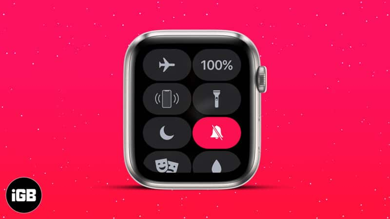 How to silence your Apple Watch