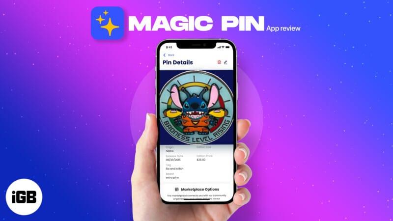 Magic Pin Collectibles iPhone app review