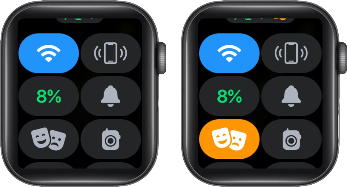 Turn on Theater Mode on Apple Watch