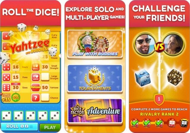 Yahtzee with Buddies Dice iPhone game screenshot