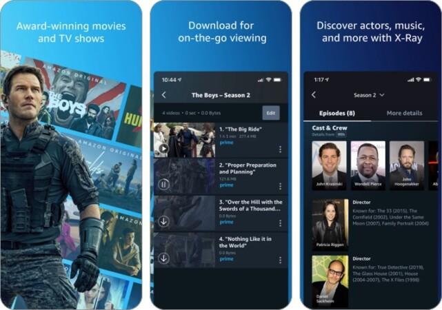 Amazon Prime Video Anime Streaming App Screenshot